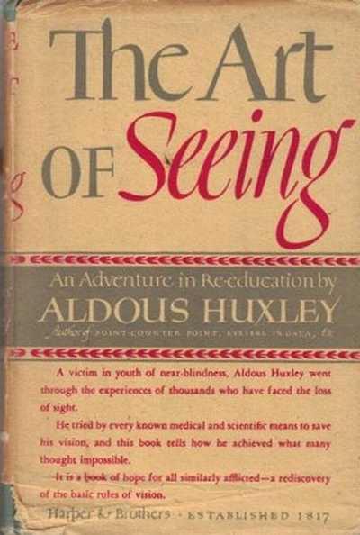 Words essays and behavior aldous huxley